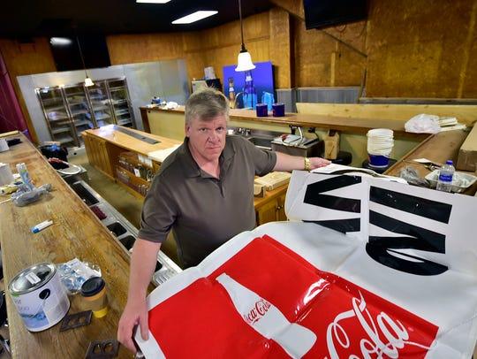 Greg Hurst, owner, is adding a new restaurant for diners