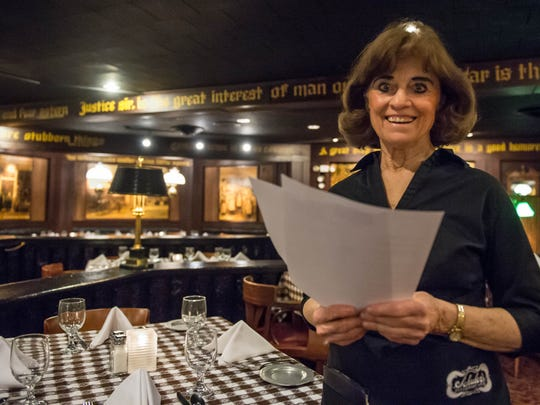 Sue Hayes has been a waitress, and much more, at Schuler's