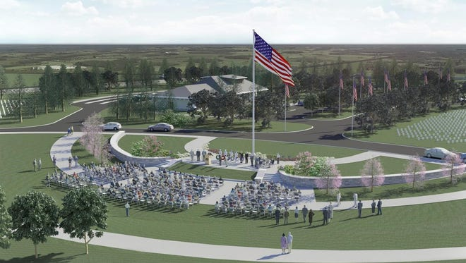 These designs are for a new Western New York National Cemetery in Pembroke, Genesee County. Construction could begin this year after a final land acquisition was announced Monday.