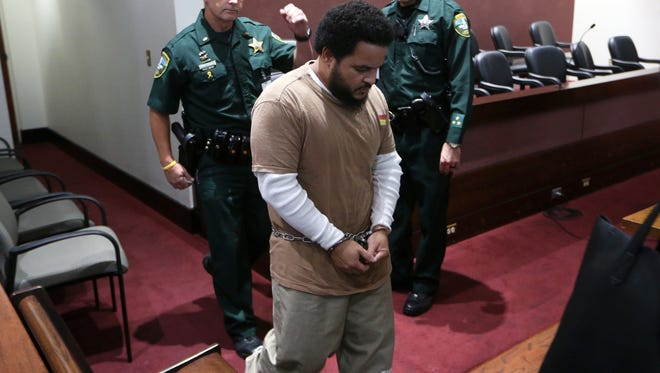 Luis Rivera, one of two men accused in the killing of Dan Markel, pleads guilty Tuesday at the Leon County Courthouse and is sentenced to 19 years, to be served concurrently with the 12 years he is already serving on an unrelated charge.