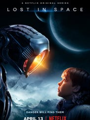 """Max Jenkins stars as Will Robinson in Netflix's new adaptation of """"Lost in Space,"""" premiering April 13."""