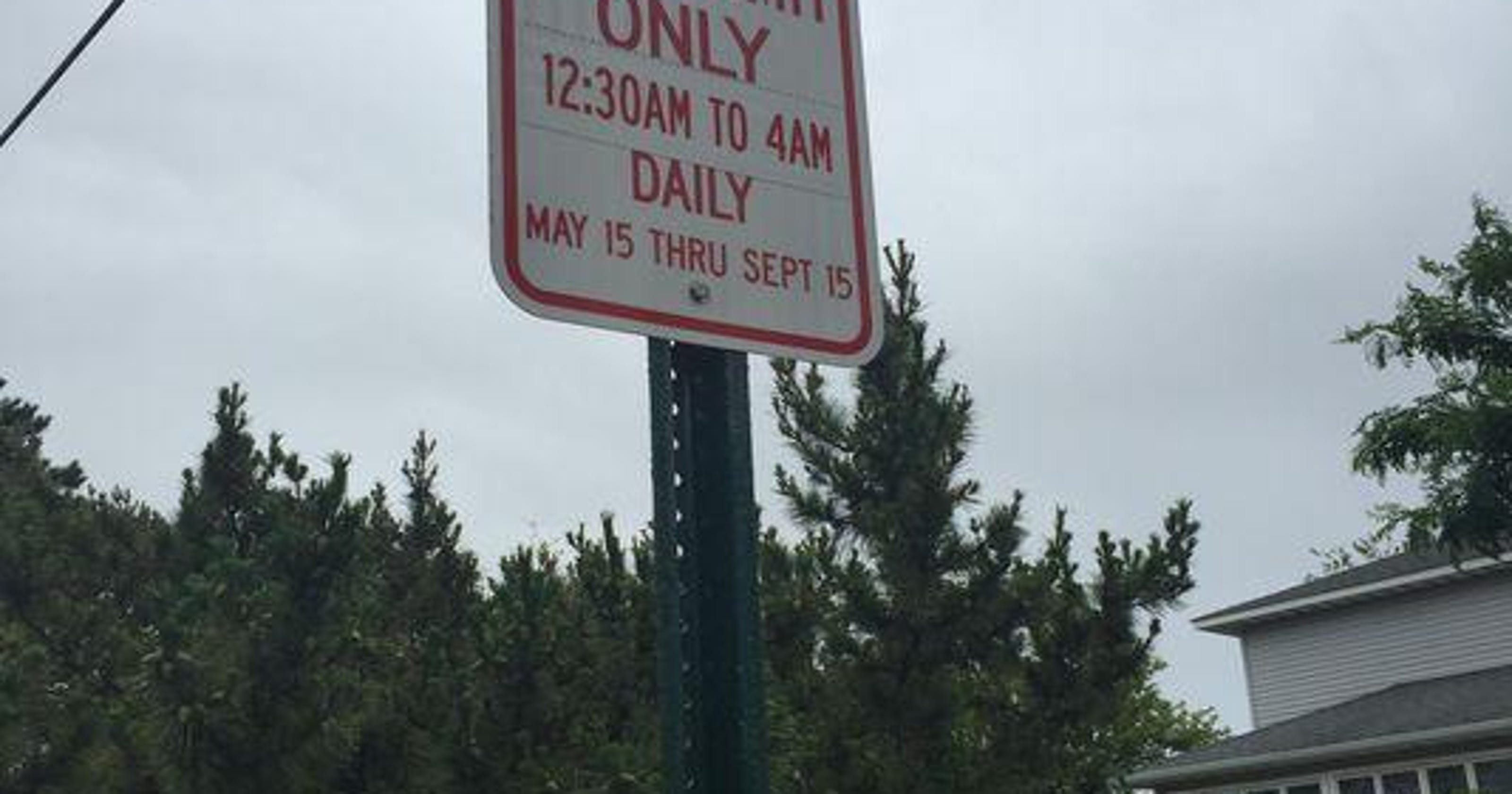 Point Pleasant Beach Parking Rules