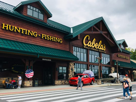 Cabela's at the Christiana Mall. The family of a 19-year-old mother killed in a 2016 drive-by shooting in Wilmington is suing Cabela's, where the weapon was bought in a straw purchase.