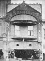 An early incarnation of the Golden's Store in downtown