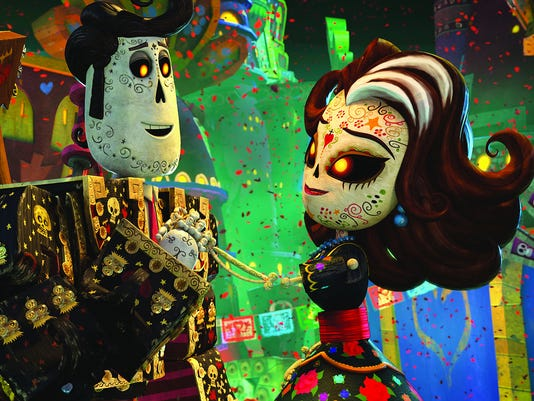 Movie Gives New Life To Mexican Day Of The Dead-3905