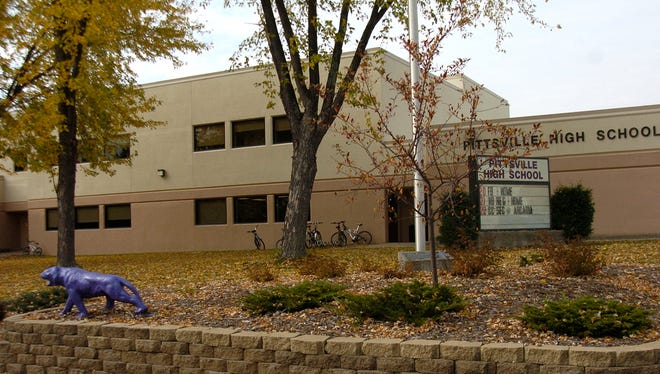 Students in the Pittsville School District were in a lock down Tuesday morning.
