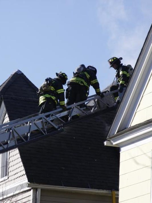Hastings chimney fire