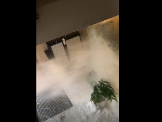 water pipe frozen burst