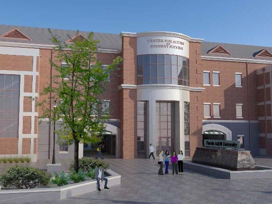 Construction has started on the Center for Access and