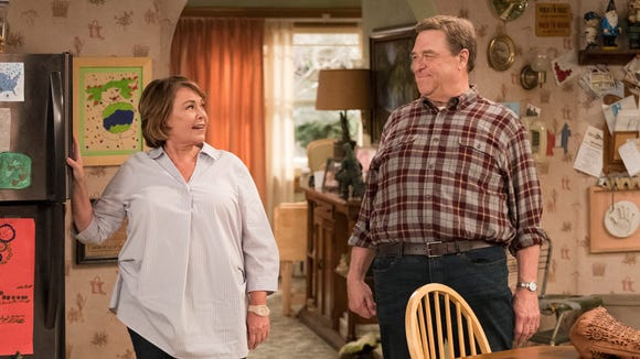 Roseanne (ABC, 10 seasons): The revival of the popular 1990s comedy is led by Roseanne Barr and John Goodman.