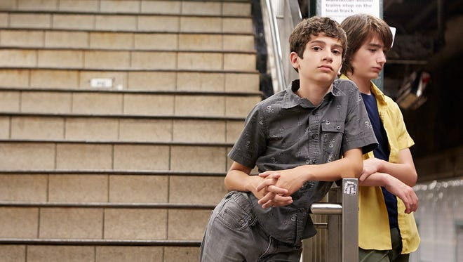 "Michael Barbieri and Theo Taplitz in ""Little Men."" The film opens Friday at the Small Star Art House."
