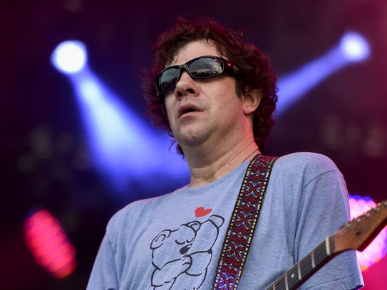 Dean Ween, pictured in 2016.