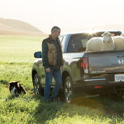 An image of the 2017 Honda Ridgeline from the automaker's