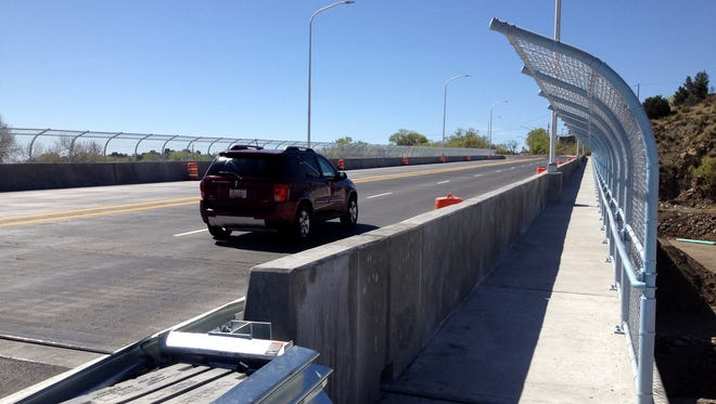 The Hudson Street Bridge is open to traffic on Monday but some work on the bridge continues, according to NMDOT officials.