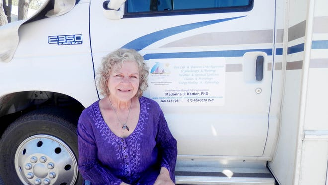 Dr. Madonna J. Kettler, a hypnotherapist, has resided in Silver City for over a decade.