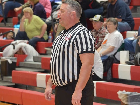 Jim Grafton, who is the deputy chief at the Battle Creek Police Department, is also a high school basketball referee.