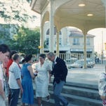 The renovation at the Licking County Courthouse may mean the removal of the gazebo.