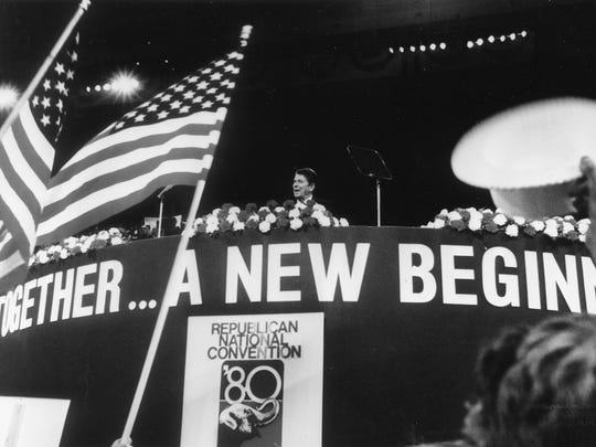 Ronald Reagan at the Republican National Convention
