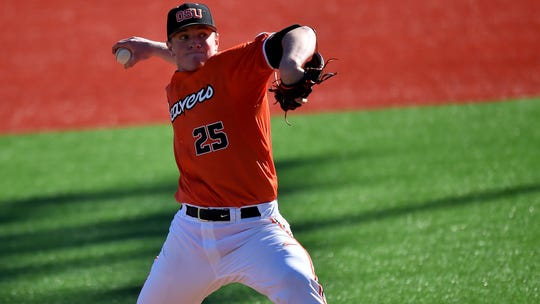 Drew Rasmussen was the ace of OSU's pitching staff