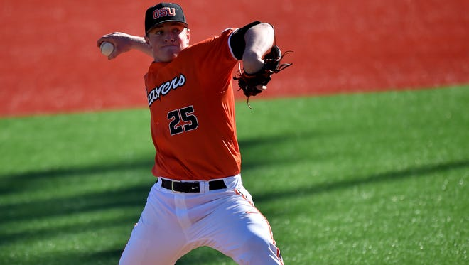 Drew Rasmussen was the ace of OSU's pitching staff before an injury ended his season midway through the 2016 campaign.