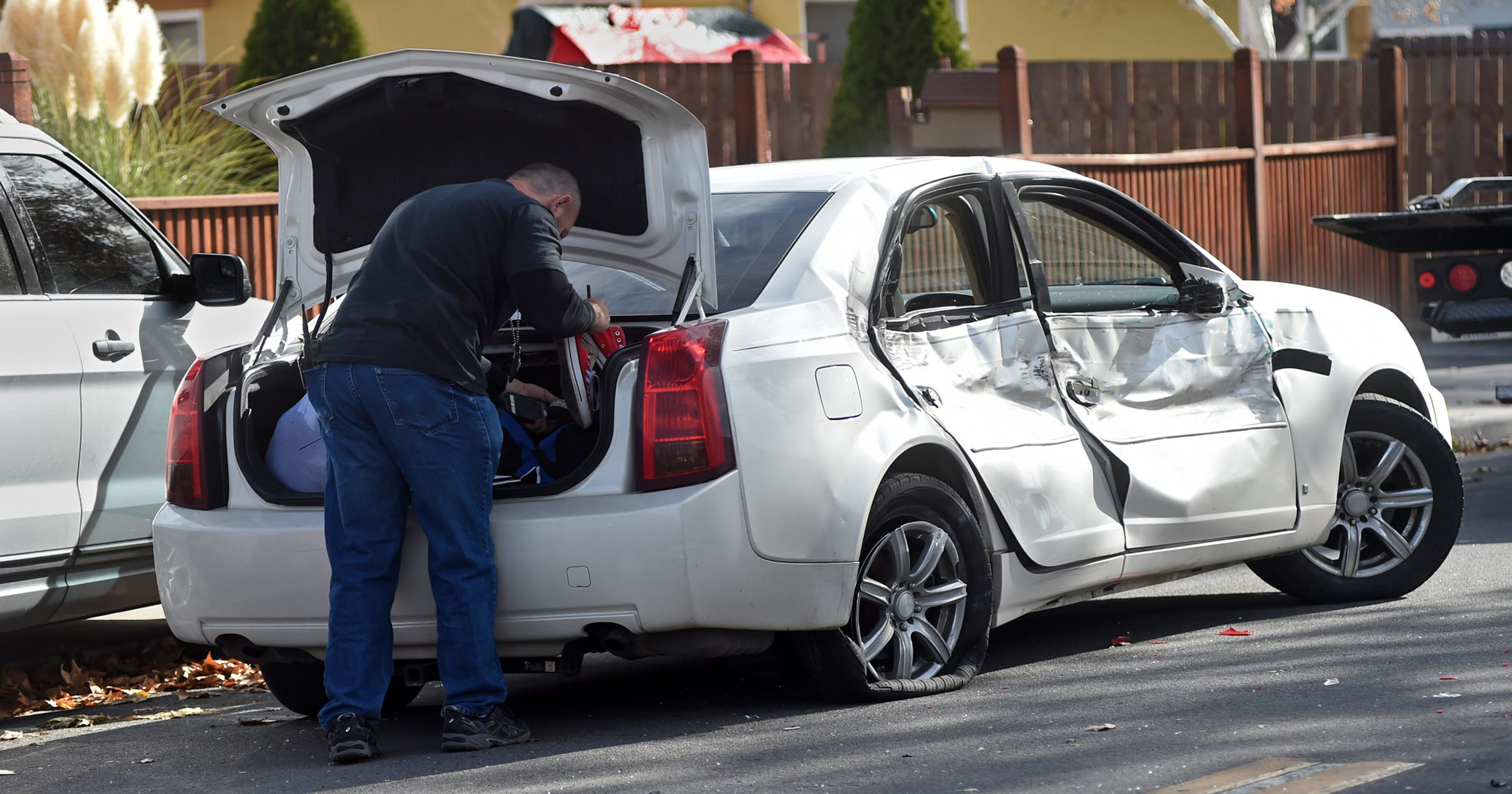Crash, police activity close Sparks intersection temporarily