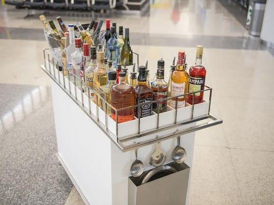 Bar carts will visit gate areas as part of OTG's re-design