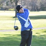 Stevenson's Easton Schlatterbeck carded a 38 during Thursday's match at Idyl Wyld.