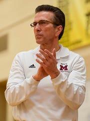 Gary Morris led Mercy to the girls basketball program's