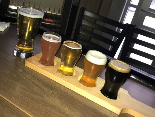 Local beers are on tap at Snug Harbor in Kearny.