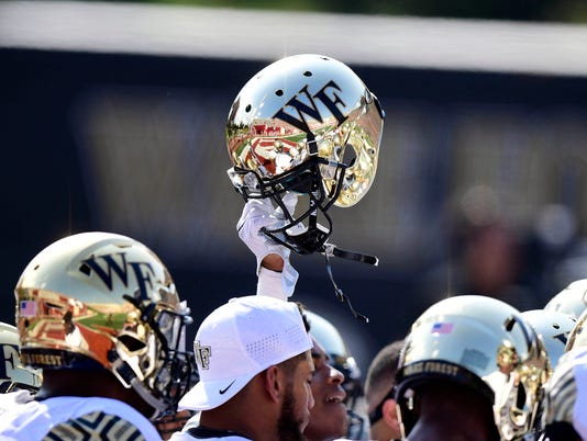 USP NCAA FOOTBALL: WAKE FOREST AT INDIANA S FBC USA IN