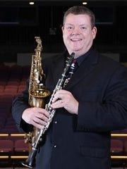 "Composer Martin Butler's piece ""Concerto for Soprano Saxophone and Orchestra"" will be performed for the first time in the U.S. on the Benedicta Arts Center stage. It will feature CSB/SJU Professor Bruce Thornton on saxophone"