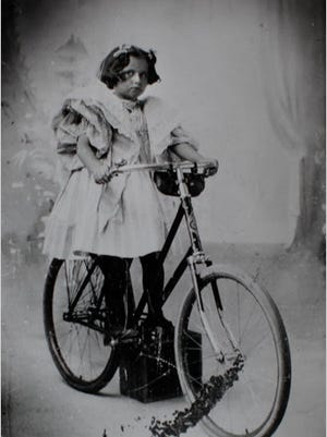 """Virginia O'Hanlon is shown in this undated photo, circa 1895. In 1897, at age 8, she wrote the letter that inspired The New York Sun editorial """"Is there a Santa Claus"""" that contained the line, """"Yes, Virginia, there is a Santa Claus."""""""