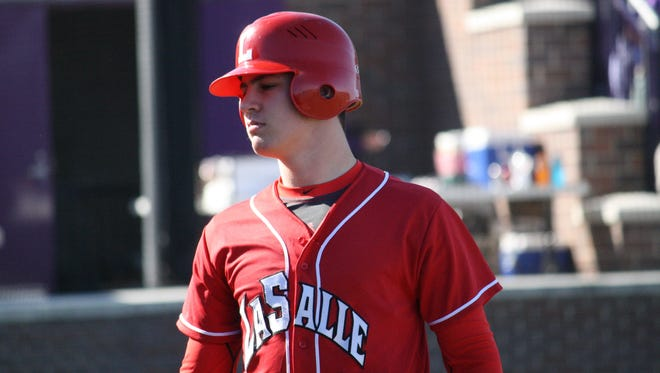 La Salle's Eric Greene drove in two runs in Tuesday's 9-3 win over Mason.
