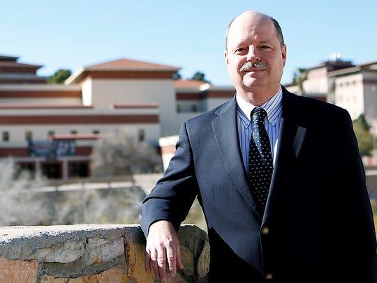 Tom Fullerton, UTEP economics professor and co-author