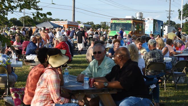 The first Food Truck Friday was held Friday, Sept. 11, at Epworth United Methodist Church in Rehoboth Beach. Event organizers reported about 700 people attended.
