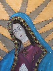 """Virgen"" by Lorena Garcia."