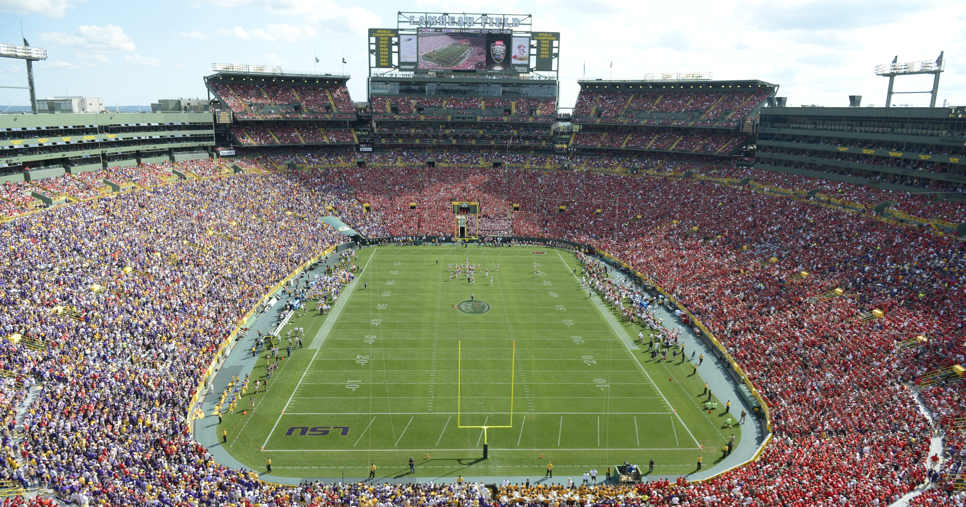 Lambeau Field Too Small For World Cup Soccer