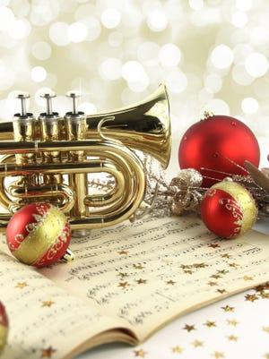 Christmas decoration with music