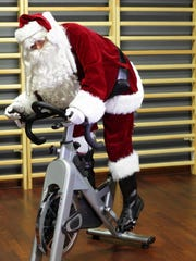 Exercise often gets neglected during the holidays.