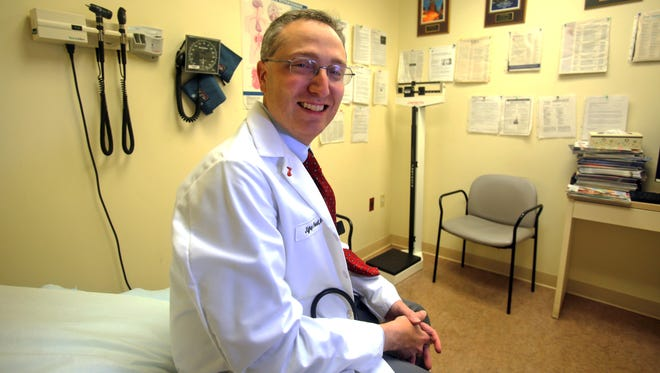 Dr. Jeffrey Powell, Northern Westchester Hospital's Chief of Endocrinology, photographed Oct. 21, 2015 at his office at Mt. Kisco Medical Group. Dr. Powell has come up with a list of 13 things you didn't know about diabetes.