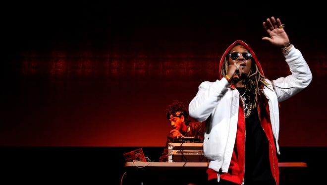 Future performs onstage during 105.1's Powerhouse 2015 at the Barclays Center on October 22, 2015 in Brooklyn.