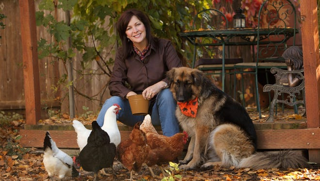 Backyard chicken advocate and author Gretchen Anderson will present two seminars at the Polk Home and Garden Show this weekend.