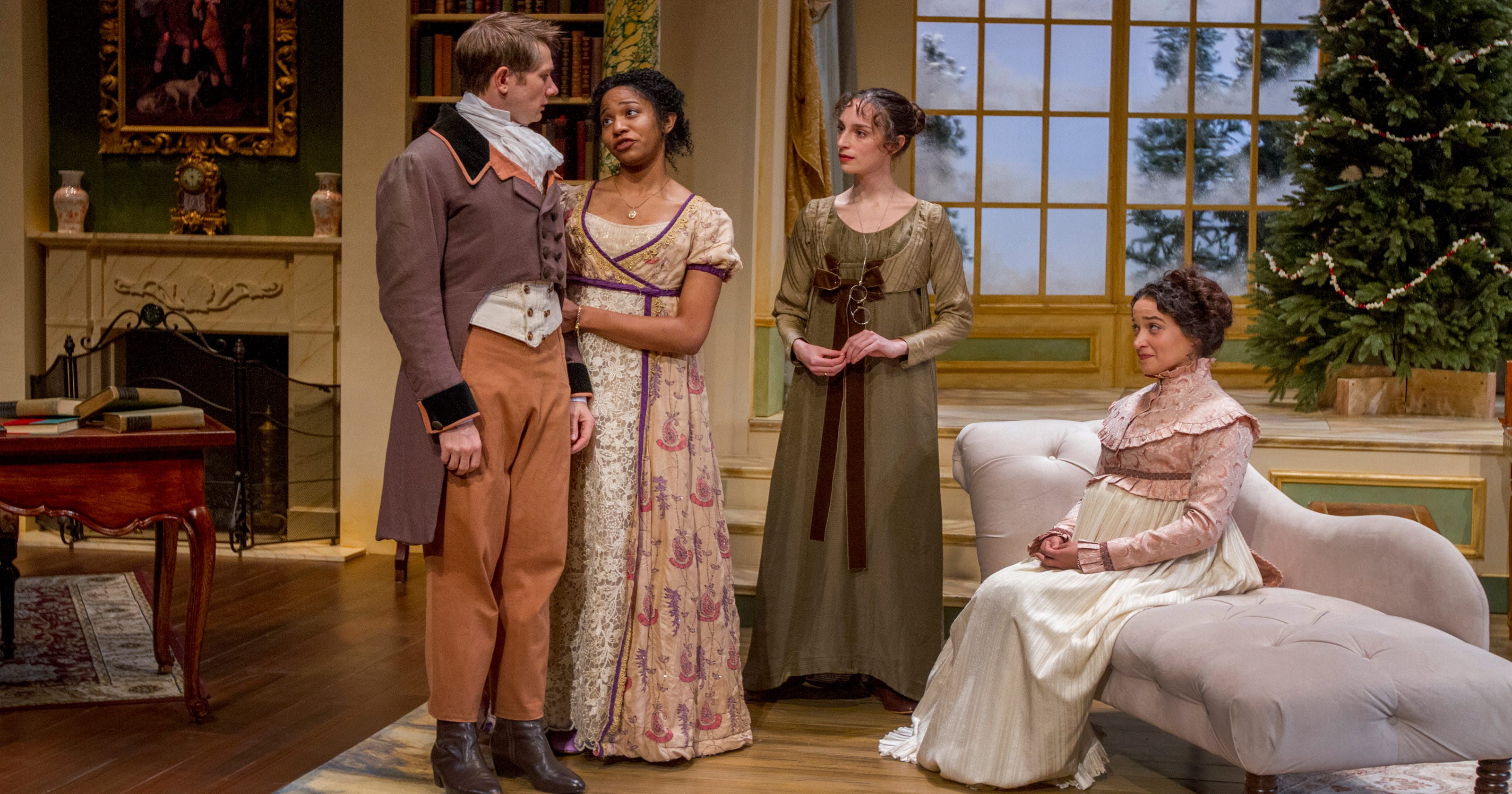 Miss Bennet Christmas At Pemberley.Theater Review Miss Bennet Christmas At Pemberley