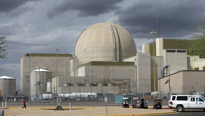 The Palo Verde Nuclear Generating Station, whose first of three units went online in 1986 and is shown on Oct. 11, 2012, is the country's only nuclear plant situated on river that is dry most of the year. It is in Tonopah, Ariz., about 50 miles west of Phoenix.