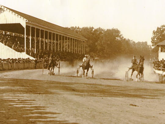 Harness racing was a popular attraction for many years
