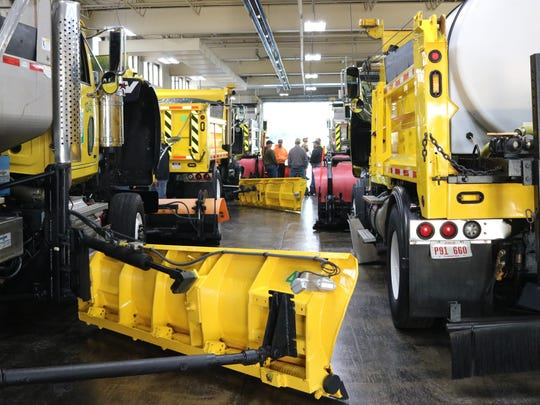 The public will have a chance to check out the turnpike's snowplows firsthand as each of the eight maintenance buildings is hosting an open house on Saturday, Oct. 21, from 10 a.m. to 1 p.m.