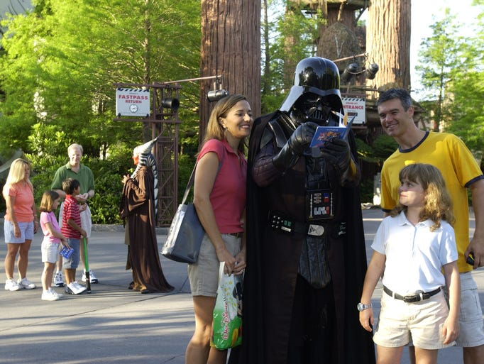 Each spring, Disney's Hollywood Studios fills with Jedi knights, Stormtroopers, Wookies, and other assorted creatures.