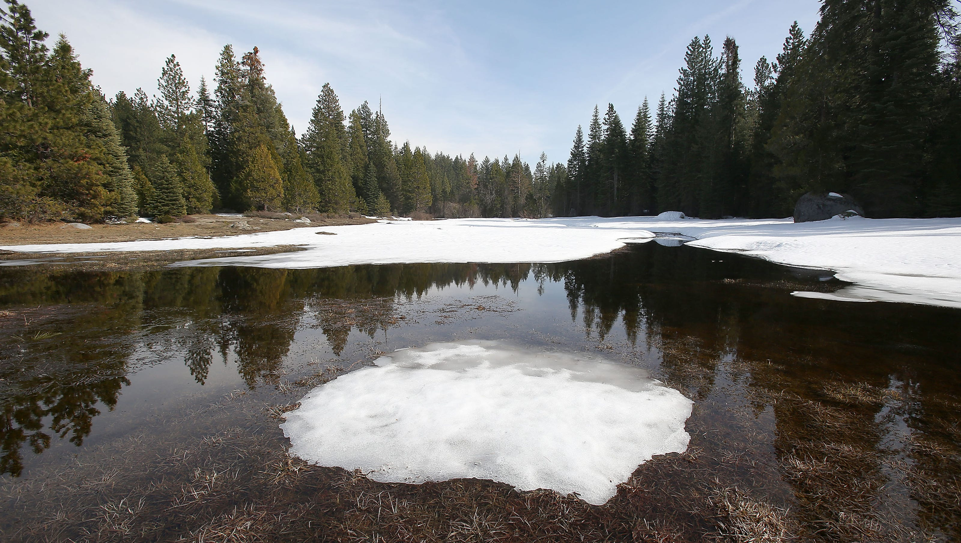 Sun Is Temporarily Back Snow Is Melting >> Losing Snow In A Changing Climate