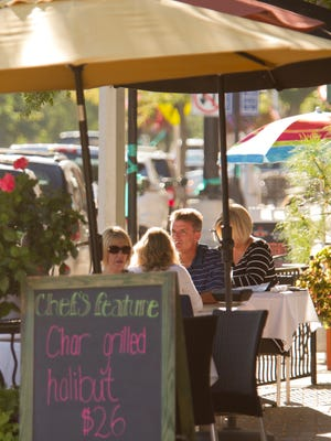 Farmington eateries can serve guests outside earlier this year if the mild temperatures continue.