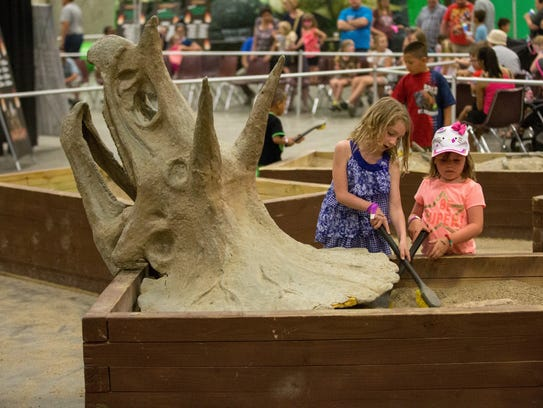 Jurassic Quest has a variety of family-friendly activities.